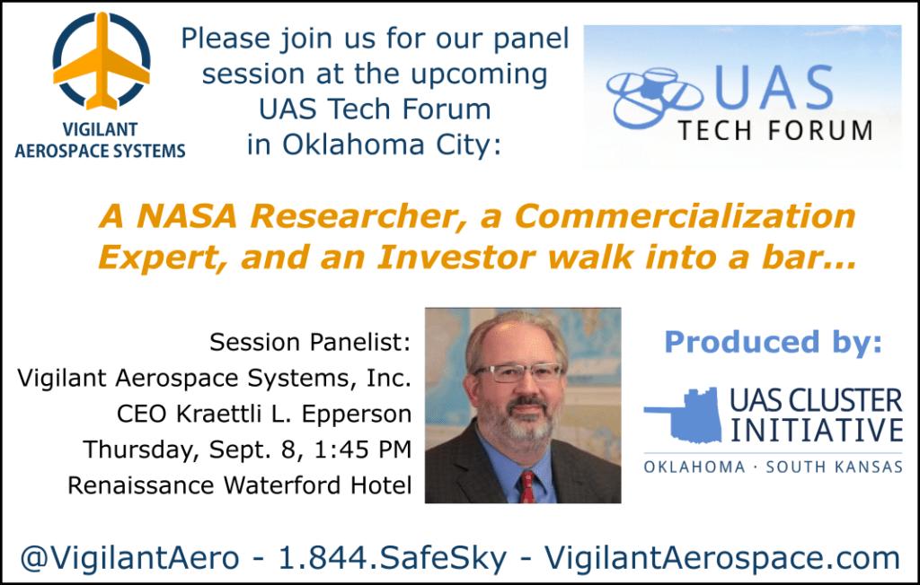 UAS Tech Forum 2016 UASCI_VAS Promo Graphic