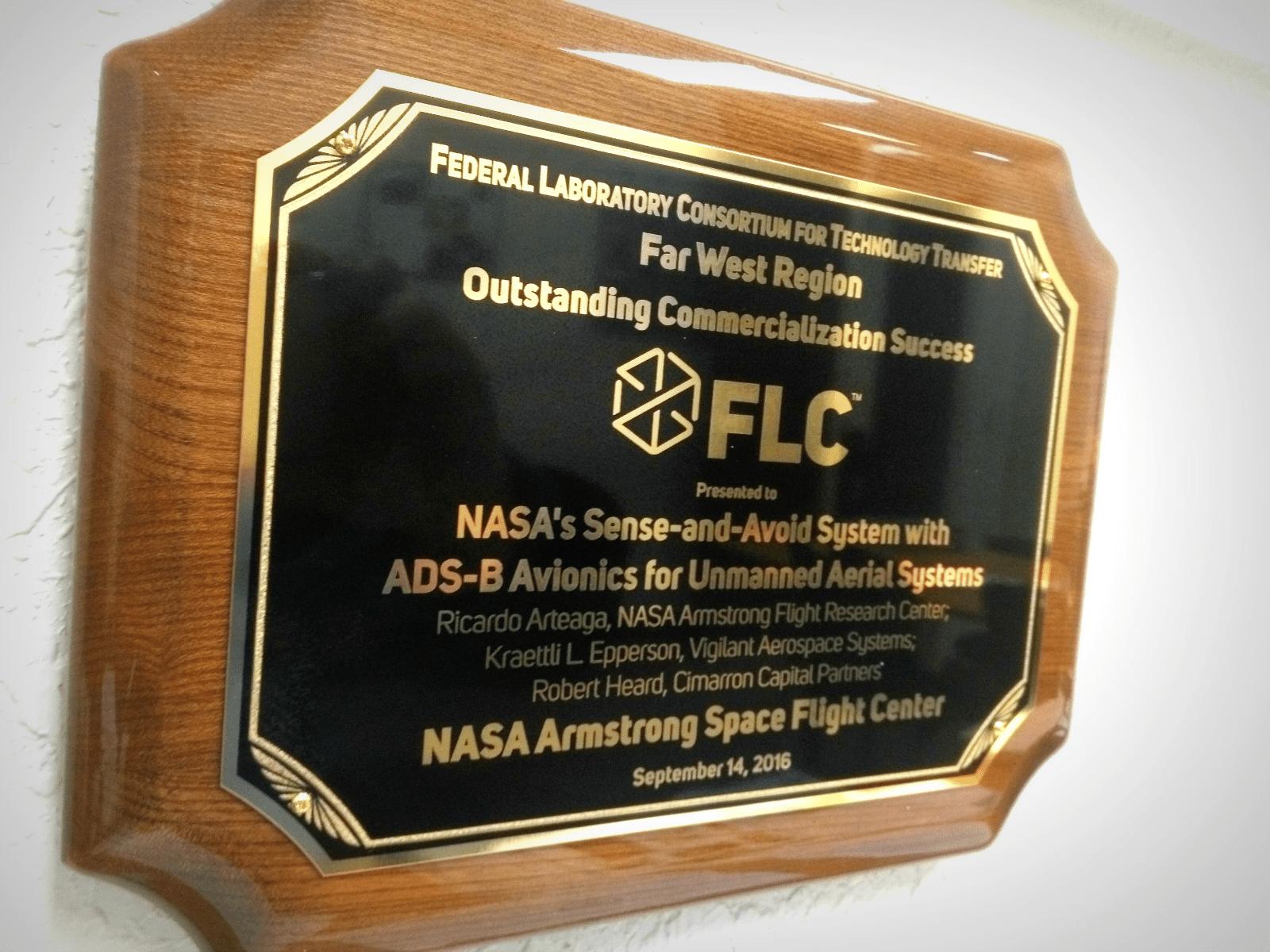 2016-flc-oustanding-commercialization-success-plaque_vigilant-aerospace