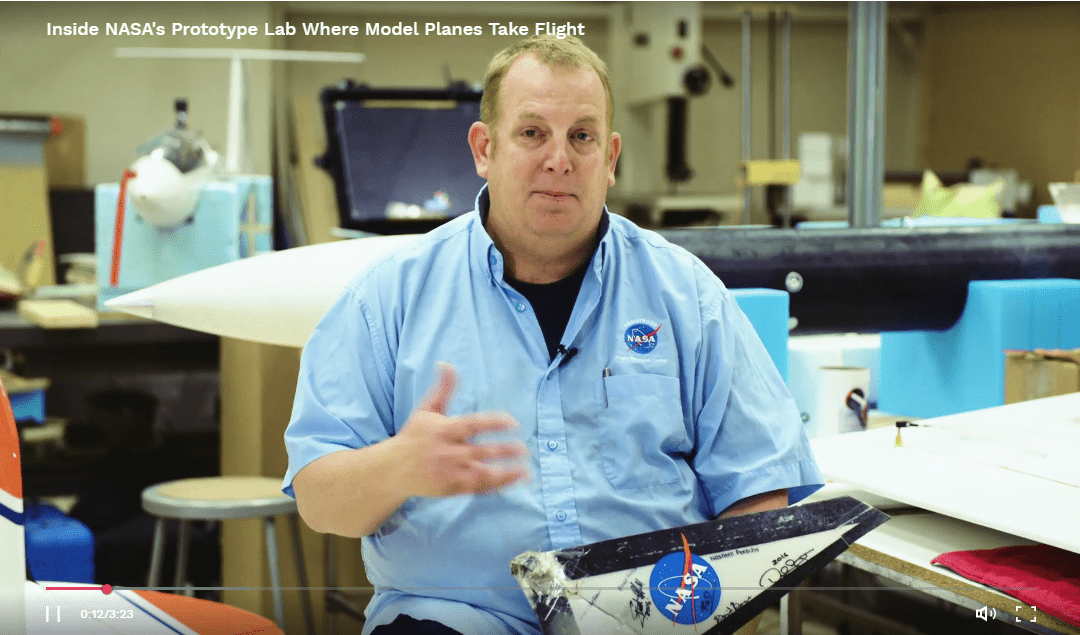 NASA Subscale Flight Research Lab Featured in Wired Magazine Video, Tested FlightHorizon