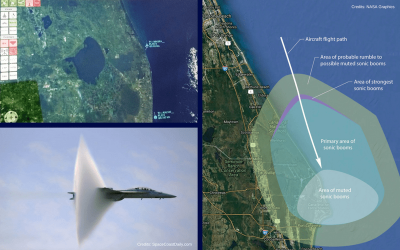FlightHorizon Used in NASA SonicBAT Research Flights for Situational Awareness, Airspace Logging