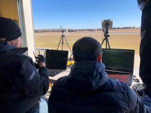 Flight monitoring. FlightHorizon radar integration flight test at Oklahoma State University