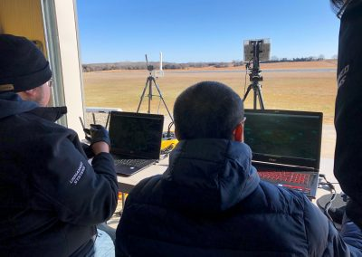 Flight monitoring. FlightHorizon radar integration flight test at Oklahoma State University