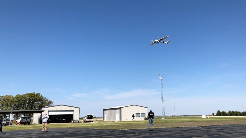 Vigilant Aerospace Uses Detect-and-Avoid System for Pandemic Response Drone Test Flight with Oklahoma State University and MaxQ