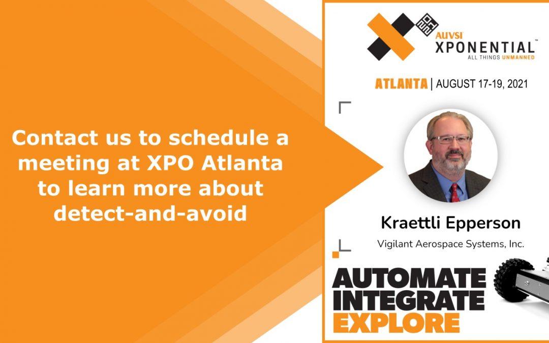 Let's Talk Detect-and-Avoid at XPONENTIAL 2021 Atlanta